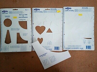 Clover Trace n Create Quilting Templates Dresden /& Fan CL9514 each