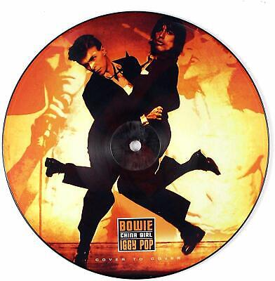 """David Bowie IGGY POP China Girl Vinile 7"""" Picture Disc Nuovo"""