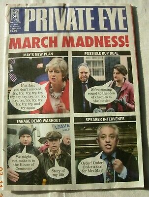 Private Eye 22 March 2019 March Madness