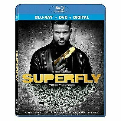 Superfly (Blu-ray/DVD, 2018, 2-Disc Set) See Description