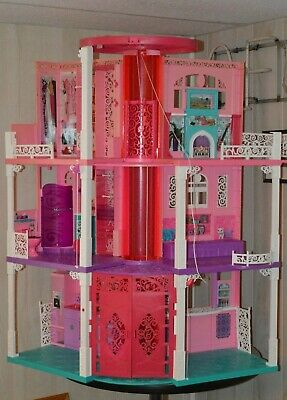 Barbie Dream House 3 Story Elevator 2013 Collectors sound working PU St. Louis