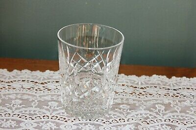 """Waterford Crystal Lismore Double Old Fashioned Tumbler Glass 4 3/8"""""""