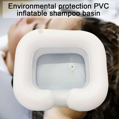 Inflatable Portable Basin Sink Hair Washing Aids in Bed Travel indoor Washbasin