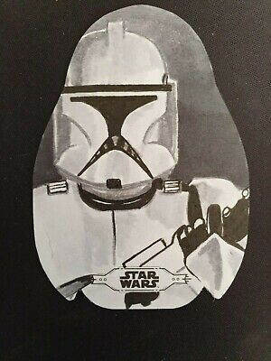 2019 Topps Star Wars Chrome Legacy Porg Shaped Die Cut Sketch by Gary Rudisill