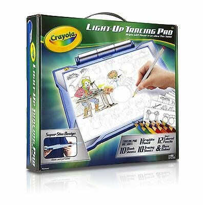 KIDS Light-Up Tracing Pad Drawing Board,Blue,Boy GIFT Present Christmas Xmas Toy