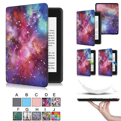 For Hots Kindle Paperwhite 4 2018 Auto Thin Leather Sleep Awake Flip Covers Case