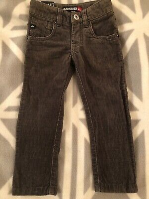Boys Quicksilver  Brown jeans, skinny fit, size 2 EUC Adjustable Waist
