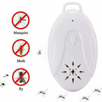 New Ultrasonic Pest Repeller Plug in Electronic Repellent Mouse Spider Mosquito