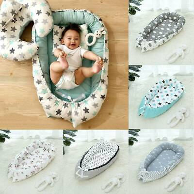 Baby Infant Pod Nest Cocoon Reversible Bed Sleep Cushion Sleepyhead Mat
