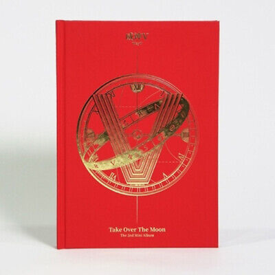 WAYV [TAKE OVER THE MOON] 2nd Mini Album CD+POSTER+Photo Book+2p Card SEALED