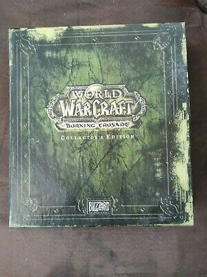World of Warcraft - WoW - the burning crusade édition collector (incomplete)
