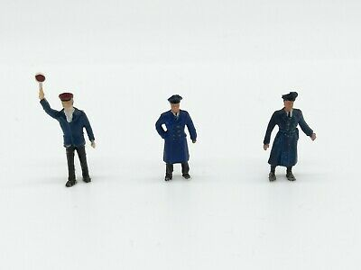 Unpainted OO scale 7 figures On Fatigues 40//50/'s Langley F170a Army personnel