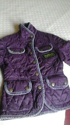 Barbour International Quilted Jacket  4-5
