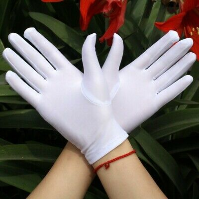 Driving Gloves Women Short Wrist Elastic Spandex Outdoor Party Opera Wear Casual