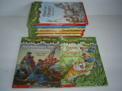 """Lot of (12) 'MAGIC TREE HOUSE"""" - Childrens Books - Softcover"""