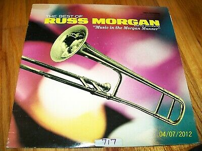 The Best Of Russ Morgan And His Orchestra - Music In The Morgan Manner Lp Rare!