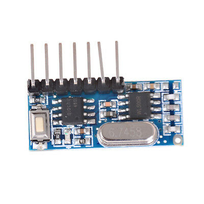 433mhz RF Wireless Receiver 1527 Learning Code Decoder Module CPUK