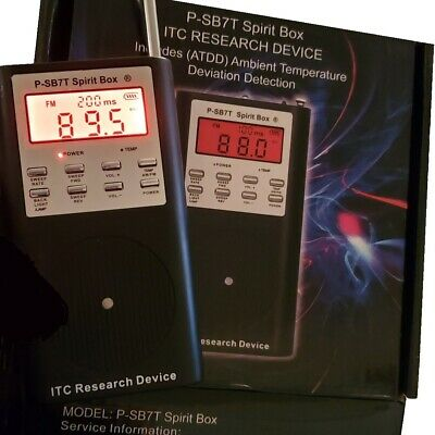 P-SB7 Spirit Box & Speaker ITC Research FM/AM Ghost Box PSB7 Radio Paranormal