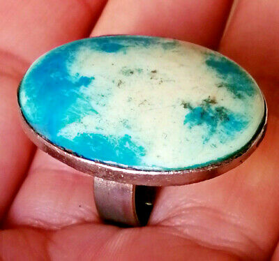 Ancient Medieval Silver Ring Vintage Museum Quality Very Stunning Wonderful