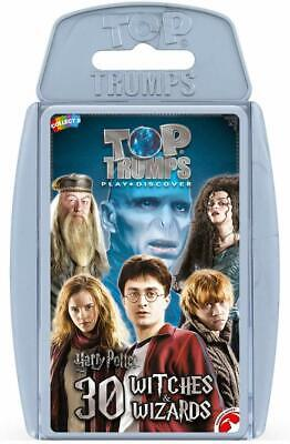 HARRY POTTER Top Trumps Educational Fun Card Game - 30 Witches and Wizards