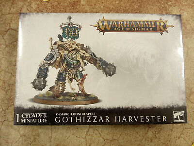 Warhammer Age Of Sigmar Ossiarch Bonereapers Gothizzar Harvester - New & Sealed