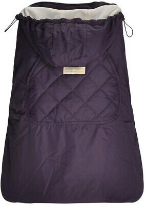 Bebamour Purple Winter Cover for Baby Carrier Warm Universal Hoodie Baby