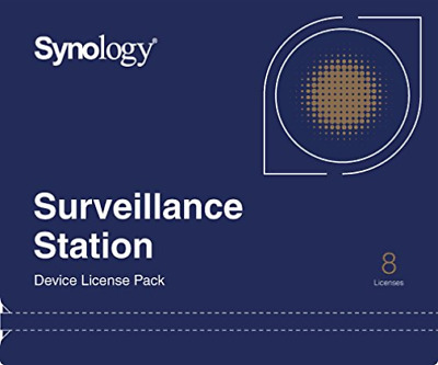 Synology Surveillance Device License Pack - Licence - 8 Cameras NUEVO