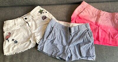 Girls colourful shorts - Marks and Spencer, J Crew crewcuts - girls size10