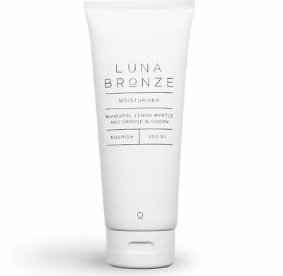 Neuf Luna Bronze Nourrit Hydratant Quotidien 200ml Corps Hydrater