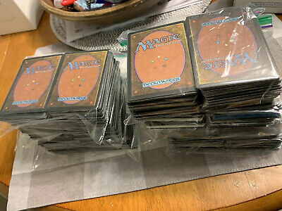 Large collection of old magic gathering cards 1400 Set