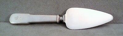 """Antique WATSON Sterling SILVER Cheese SERVER 1880 TIPPED Mono 6"""" Outstanding"""