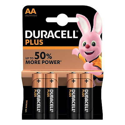 Duracell Plus Aa 4 Paquet Piles Alcalines