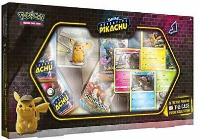 Pokmon POK80636 TCG Detective Pikachu On The Case Figure Collection, Mixed Col