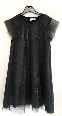 Zara Girls Sparkly Party Dress Age 11-12 152 Cms In Fabulous Condition