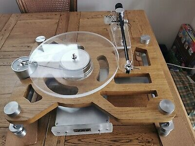 ARB Turntable with Rega Bearings and DC Motor