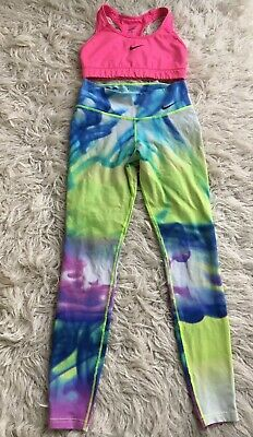 Nike Outfit 💕  Crop Top + Leggings Set Size S