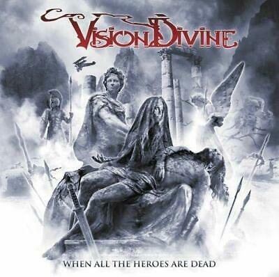 KING RECORDS VISION DIVINE CD When All The Heroes Are Dead From Japan