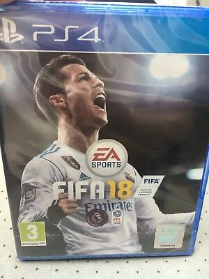 FIFA 18 for PSP 4 Ronaldo Edition Brand New Unopened