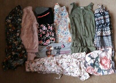 Girls Clothes Bundle Age 7-8 Years: Next, Pineapple, Blue Zoo