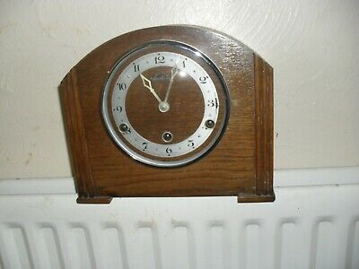 Art Deco  mantle clock with Westminster chimes