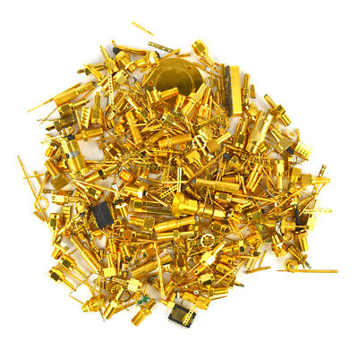 1 Pound (453.5 grams) of Gold Plated Pins and Connectors for gold Scrap Recovery