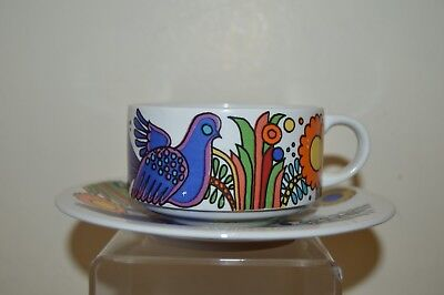 Villeroy & Boch Acapulco Coffee / Tea / Teacup and Saucer (M1)