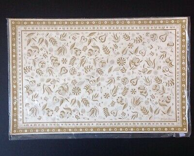 NIP 24 Vintage Contempo Paper Ware Georges Briard Persian Gardens Placemats