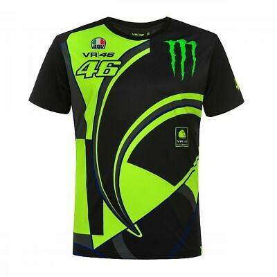 Valentino Rossi T-shirt VR46 MotoGP Monster Energy Official 2019
