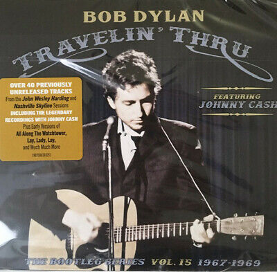 Dylan Bob Travelin' Thru 1967-1969 The Bootleg Serie Vol.15 Cofanetto Triplo CD