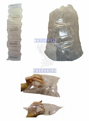 Small Large Air Pillows Cushions Pre Filled Void Fill Clear Plastic Packaging