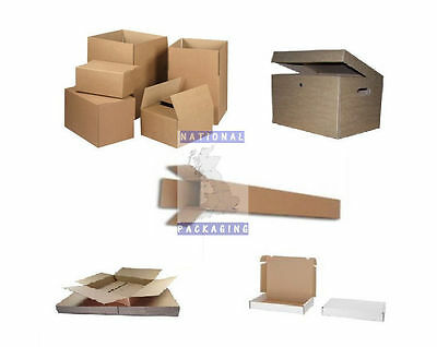 Small Large Cardboard Boxes Postal Mailing Packaging Single Wall Sw All Sizes