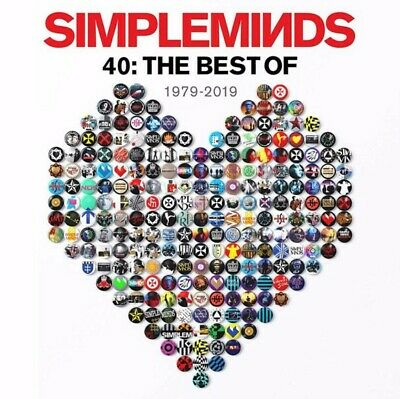 Simple Minds 40: The Best of 1979-2019, 3 CD box set