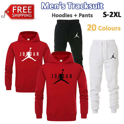 Legend Mens Tracksuit Sportswear Hoodies Pants Basketball Sport Set Jogging Suit