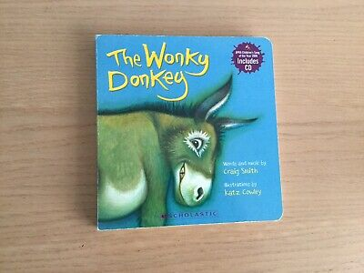 The Wonky Donkey Board Book and CD